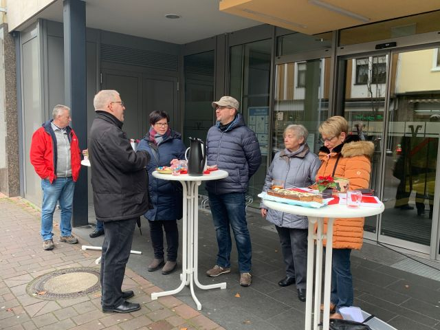 Infostand der Bad Emser SPD